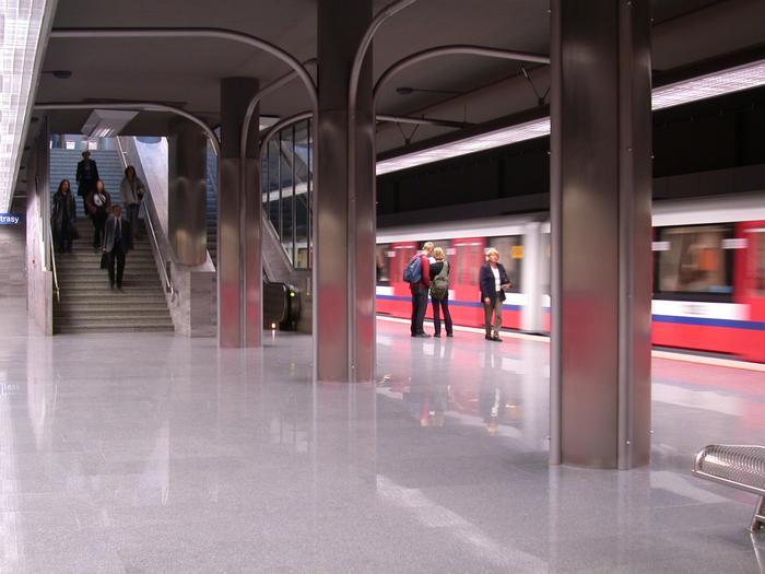 Stacja Ratusz-Arsenał. Warszawa jako jedyna w Polsce może pochwalić się linią metra