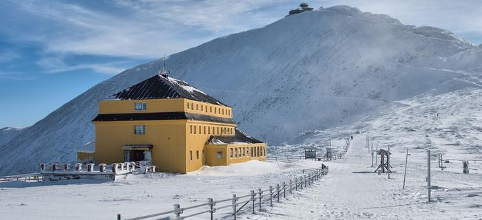 Ferie zimowe 2014, Karkonosze - Śnieżka