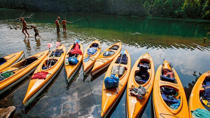 Na Pojezierzu Drawskim jest mnóstwo rzek świetnych do spływu kajakowego