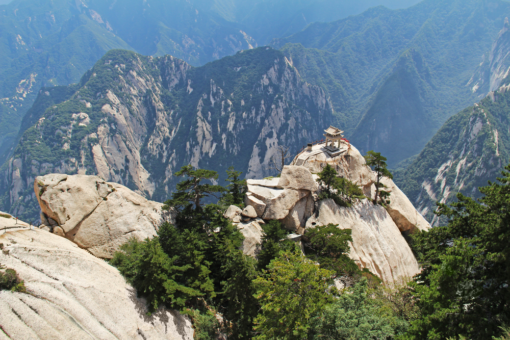 Hua Shan - Sparrow Hawk Cliff