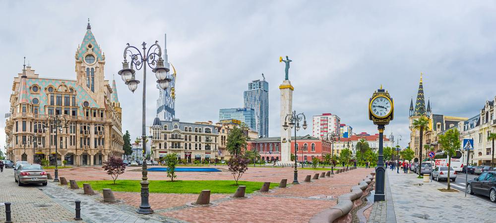 Plac Europy w Batumi